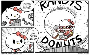 Hello Kitty is NOT a Cat by PacoAfroMonkey