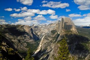 Spotted Half Dome by DigitalCoyote