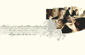 Wallpaper -- Klaus and Caroline #4 by kiki804
