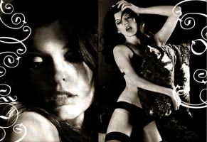 Milla Jovovich Banner 3 by cosmic-sweets