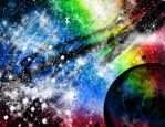 Rainbow Planet by Holly6669666