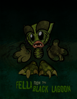 Fella from the Black Lagoon by aors