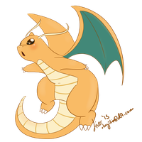 Dragonite by OkayIlie