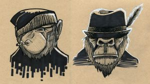 Monkey Swag by MarcosMachina