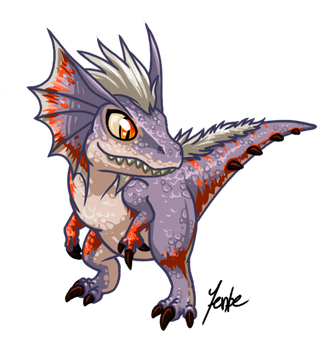 Great Jaggi - Chibi by Jenbe