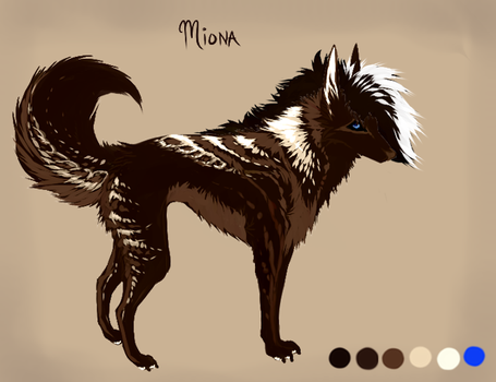 Req: Miona Redesign by MischievousRaven
