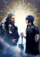FFXV - Unbreakable Bond by Nijuuni
