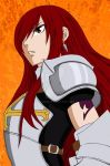 Fairy Tail - Erza Challenge right 100 WiP by Khorai