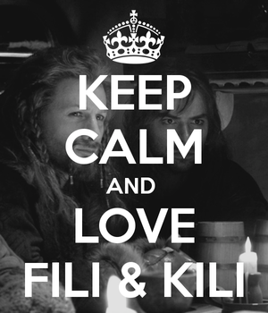 Keep-calm-and-love-fili-kili by nathalie176