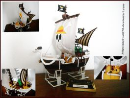 Going Merry Papercraft by Darkwolf19