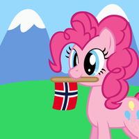 Bronies of Norway icon - Contest entry by Randina42