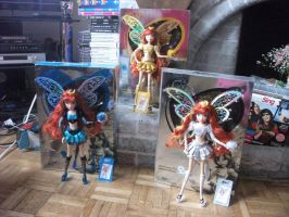 SDCC Limited Edition Bloom Believix FULL SET by BexiBeans
