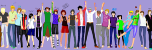 GenderBender Collab -Finished- .:My Part:. by Nami-san13
