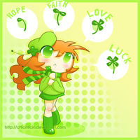 Lucky:. by chicinlicin