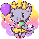 Sweet Little Kitty - Colored by Crystal-Moore