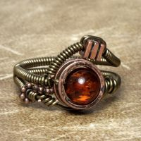 Steampunk Ring O by CatherinetteRings