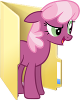 Custom Cheerilee folder icon by Blues27Xx