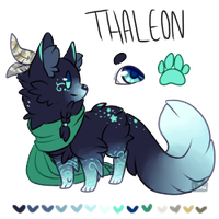 Character Re-Homeing ~ Thaleon (Closed) by LunarAdopts