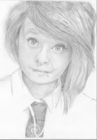 Portrait for a schoolmate :) by SammyyT