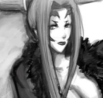Sorceress Ultimecia Quick Paint by Puukocho