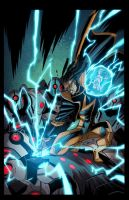 Static Shock 7:Cover by E-Mann