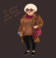 Street Style - The woman who loved panther pattern by sarakuan