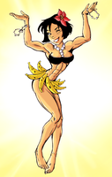 Hawaii muscle girl by Ritualist