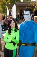 Drakken and Shego by Lilliasaid