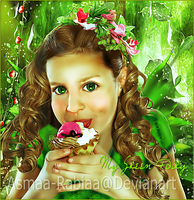 My Green Fairy by asmaa-rabiaa