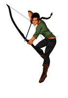 Just katniss by ifroggirl
