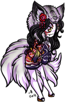 Kumiho Upgrade Chibi by KikiLime