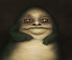 Baby Jabba by CoreyGallagher