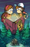 Gravity Falls by DIN0LICH