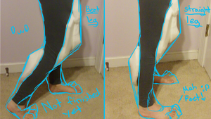 Ice's Fursuit: Legs in Progress by Ice-Artz