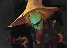 Scarecrow by Rhubarbarian