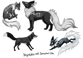 Venge Doodles by Skeleion