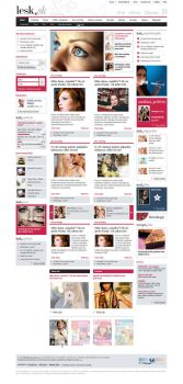 Lesk.sk woman magazine by luqa