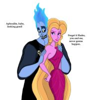 Hades and Aphrodite by DKCissner