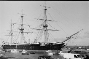 HMS Warrior by Trynnie