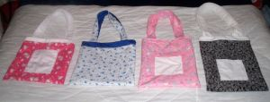 Cute Tote Bags by Bean by beanchan