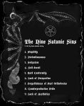 The Nine Satanic Sins by DBlackthorne