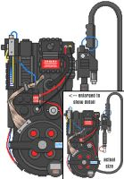 Proton Pack in pixels by jhroberts