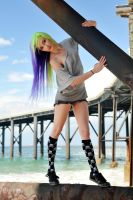 Kate - skull socks 2 by wildplaces