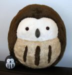 Request - Big Owl Plush by demiveemon