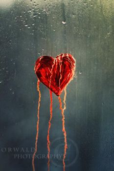 crying heart by Orwald