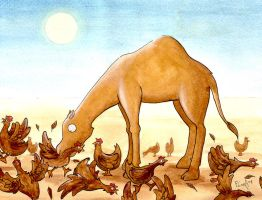 Camel Snack by frowzivitch