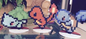 Kanto Starters by PlanetXiN