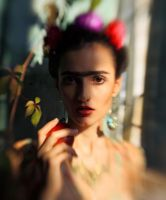 tribute to frida by IlonaShevchishina