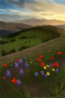 landscapestudy002 by malisaa