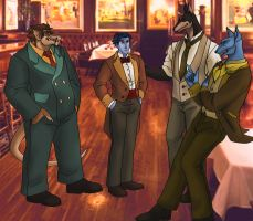 Dashing Gents by ReaperClamp